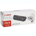 1 x Canon FX-9 Black Genuine Toner Cartridge - 2,000 pages