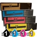 4 Pack Genuine Kyocera TK-8604 Toner Combo FS-C8650DN [1BK,1C,1M,1Y]