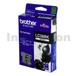 Genuine Brother LC-38BK Black Inkjet - 300 pages