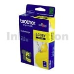 Genuine Brother LC-38Y Yellow Inkjet - 260 pages