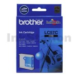 Genuine Brother LC-57C Cyan Ink Cartridge - 400 pages