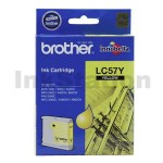 Genuine Brother LC-57Y Yellow Ink Cartridge - 400 pages