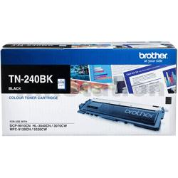 Brother TN-240BK Genuine Black Toner Cartridge - 2,200 pages