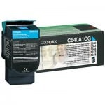 Lexmark (C540A1CG) Genuine C540 / C543 / C544 / C546 / X543 / X544 / X546 Cyan Toner Cartridge - 1,000 pages