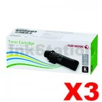3 x Genuine Fuji Xerox DocuPrint CP315, CM315 Black Toner Cartridge (CT202610) - 6,000 pages