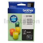 Brother LC-231 Genuine Black Ink Cartridge - 260 Pages