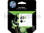 HP 61XL Genuine Black High Yield Inkjet Cartridge CH563WA - 480 Pages