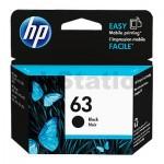 HP 63 Genuine Black Inkjet Cartridge  F6U62AA - 190 Pages