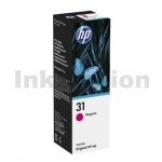 HP 31 Genuine Magenta Ink Bottle 1VU27AA
