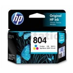 HP 804 Genuine Colour Inkjet Cartridge T6N09AA - 165 Pages