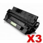 3 x HP C4129X (29X) Compatible Black Toner Cartridge - 10,000 Pages