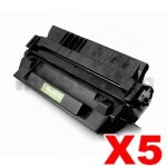 5 x HP C4129X (29X) Compatible Black Toner Cartridge - 10,000 Pages