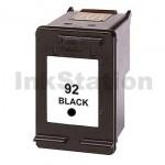 1 x HP 92 Compatible Black Inkjet Cartridge C9362WA