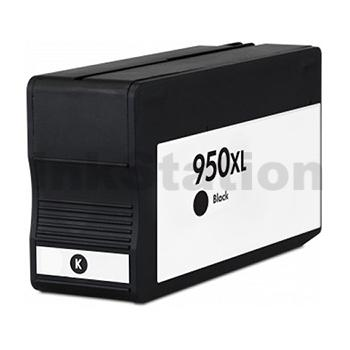 1 x HP 950XL Compatible Black High Yield Inkjet Cartridge CN045AA - 2,300 Pages