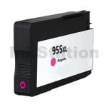 HP 955XL Compatible Magenta High Yield Inkjet Cartridge L0S66AA - 1,600 Pages