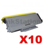10 x Brother TN-3290 Black Compatible High Yield Toner Cartridge - 8,000 pages