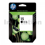 HP 15 Genuine Black Inkjet Cartridge C6615DA