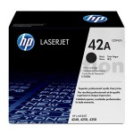1 x HP Q5942A (42A) Genuine Black Toner Cartridge - 10,000 Pages