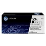 1 x HP Q7553A (53A) Genuine Black Toner Cartridge - 3,000 Pages