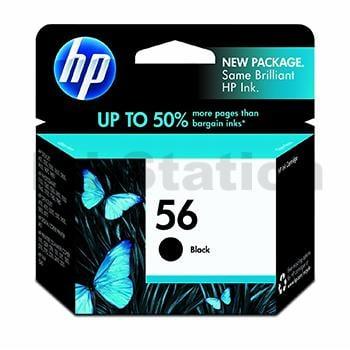 HP 56 Genuine Black Inkjet Cartridge C6656AA