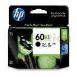 HP 60XL Genuine Black Inkjet Cartridge CC641WA - 600 Pages