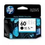 HP 60 Genuine Black Inkjet Cartridge CC640WA - 200 Pages