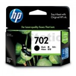 1 x HP 702 Genuine Black Inkjet Cartridge CC660AA