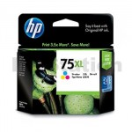 HP 75XL Genuine Colour High Yield Inkjet Cartridge CB338WA  - 520 Pages