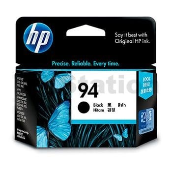 HP 94 Genuine Black Inkjet Cartridge C8765WA