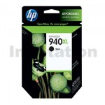 1 x HP 940XL Genuine Black High Yield Inkjet Cartridge C4906AA - 2,200 Pages