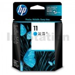 HP 11 Genuine Cyan Inkjet Cartridge C4836AA - 1,830 Pages