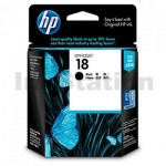 HP 18 Genuine Black Inkjet Cartridge C4936A