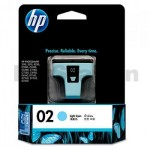 HP 02 Genuine Light Cyan Inkjet Cartridge C8774WA
