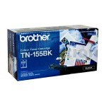Brother TN-155BK Genuine Black Toner Cartridge - 5,000 pages (TN155 is High Capacity Version of TN150)
