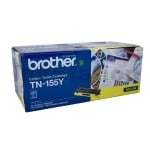 Brother TN-155Y Genuine Yellow Toner Cartridge - 4,000 pages (TN155 is High Capacity Version of TN150)