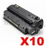 10 x HP Q2613X (13X) Compatible Black Toner Cartridge - 4,000 Pages