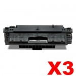 3 x HP Q7570A (70A) Compatible Black Toner Cartridge - 15,000 Pages