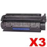 3 x HP Q2624A (24A) Compatible Black Toner Cartridge - 2,500 Pages