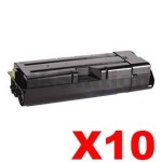 10 x Non-Genuine TK-1134 Black Toner Cartridge For Kyocera FS-1030MFP, FS-1130MFP - 3,200 pages