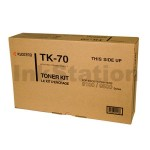 1 x Genuine Kyocera TK-70 Black Toner Cartridge FS-9100, FS-9500, FS-9520 - 40,000 pages