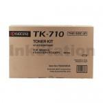 1 x Genuine Kyocera TK-710 Black Toner Cartridge FS-9530DN - 40,000 pages