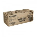 Genuine Kyocera TK-825C Cyan Toner Cartridge KMC-2520, KMC-2525, KMC-3225, KMC-3232, KMC-4035E - 7,000 pages
