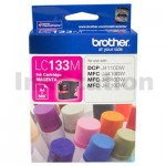 Genuine Brother LC-133M Magenta Ink Cartridge - 600 Pages