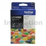 Genuine Brother LC-40BK Black Ink Cartridge - 300 pages