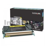 Lexmark (C746A1YG) Genuine C746 / C748 Yellow Toner - 7,000 pages