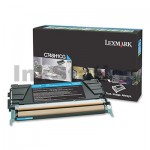 Lexmark (C748H1CG) Genuine C748 High Yield Cyan Toner - 10,000 pages