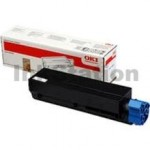 Genuine OKI MB451/ B401 Black Toner Cartridge (44992406) - 1,500 pages