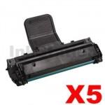 5 x Samsung ML-1610D2 Compatible Black Toner Cartridge - 2,000 pages