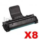 8 x Samsung ML-1610D2 Compatible Black Toner Cartridge - 2,000 pages