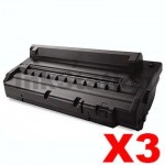 3 x Compatible Samsung ML-1710D3 Black Toner Cartridge - 3,000 pages